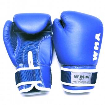 """Перчатки бокс (8,10,12ун) """"WBG""""-236, 236-М ПВХ"""