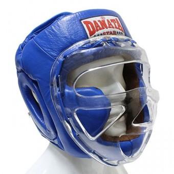 Шлем Чемпион с маской БН 247 кожа