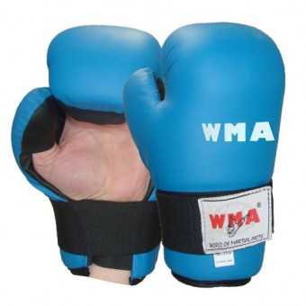 Перчатки откр ладони PU (полн контакт) WMA S\M\XL (WSG-341)