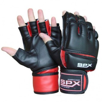 Перчатки для боев ММА (смешан единоборства) PS-1189 ПУ (L (XL)