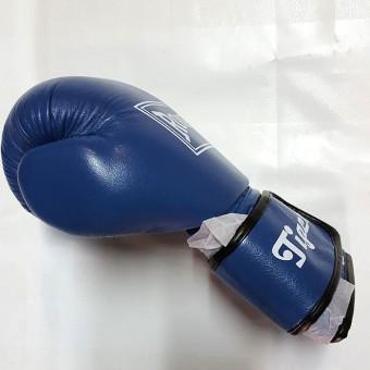 Перчатки бокс Tiger кожа (8 унц)