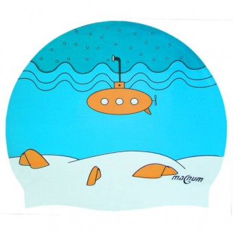 Шапочка д/плавания (силикон) JST-2925C SUBMARNO