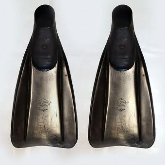 """Ласты """"Дельфин 4"""" (44-46рр) черные"""