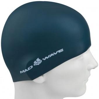 Шапочка д/плавания (силикон) Mad Wave Intensive BIG 12шт/уп (больш размер)