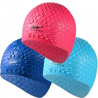 Шапочка д/плавания Bubble Cap (силикон) С33215,16,17