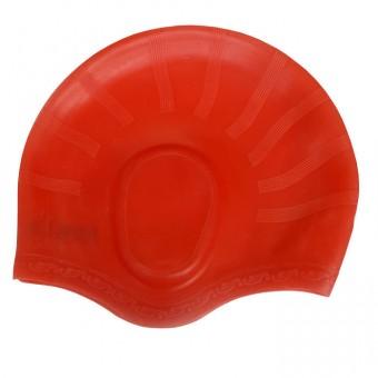 Шапочка д/плавания силикон с выемкой для ушей Н171А,В