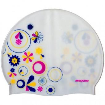Шапочка д/плавания цветы (силикон) СРТ-010