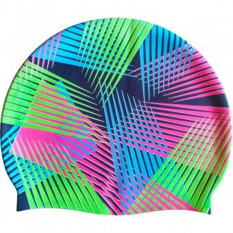 Шапочка д/плавания (силикон) SC-1240BС
