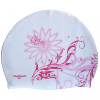 Шапочка д/плавания (силикон) FLOWER 1,3
