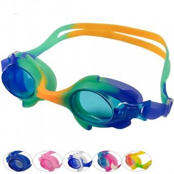 Очки для плавания мультколор 31525