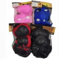 Защита для роликов 4 цвета (крас, черн, син, роз), Арт.D-022, 117797