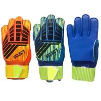 """Перчатки вратарские """"Select"""" с усилением пальцев р-р 5,6 GN-20A,В"""