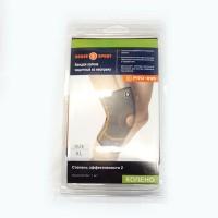 Бандаж колена усилен (S/M/L/XL) 65% резина 35% нейлон PRO-895