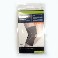 Бандаж колена (S/M/L/XL) 75% неопрен 25% полиэстр PRO-6005