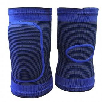 Наколенник волейбольный (с дыркой) (сниний, черный) (M-L; S-M) T 07644,45,48,49
