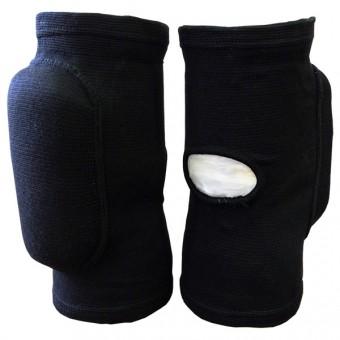 Наколенник волейбольный (с дыркой) (сниний, черный) (M-L; S-M) T 07679,80,81,82